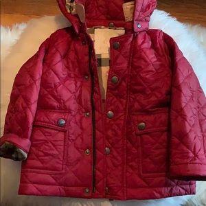 Girls Burberry Coat 18m